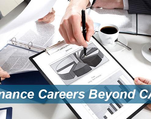 Finance Careers beyond CA