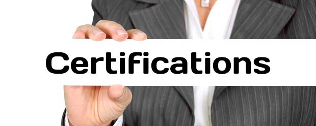 Additional certifications for CA