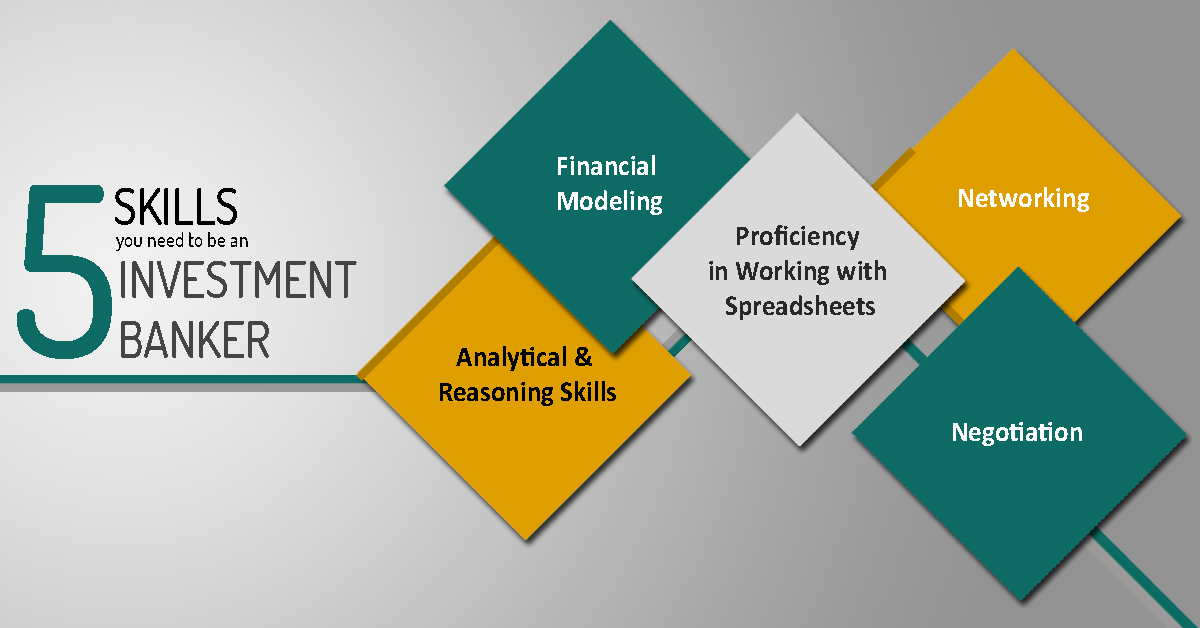 5 skills you need to be an Investment Banker