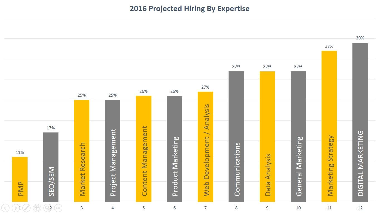 Hiring Stats 2016