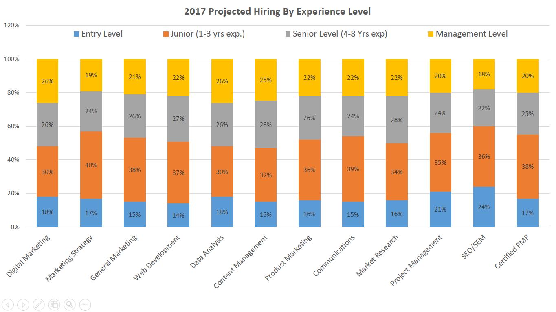 Projected Hiring Stats 2017