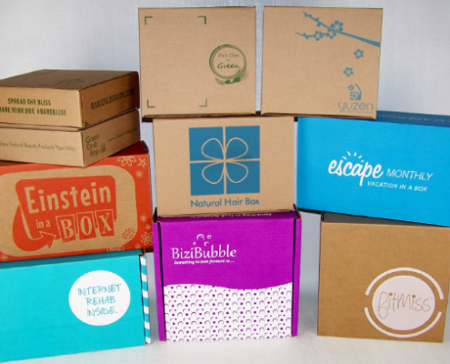 Subscription boxes The newest offering from e-commerce intro
