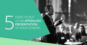 Tips to present to senior executives