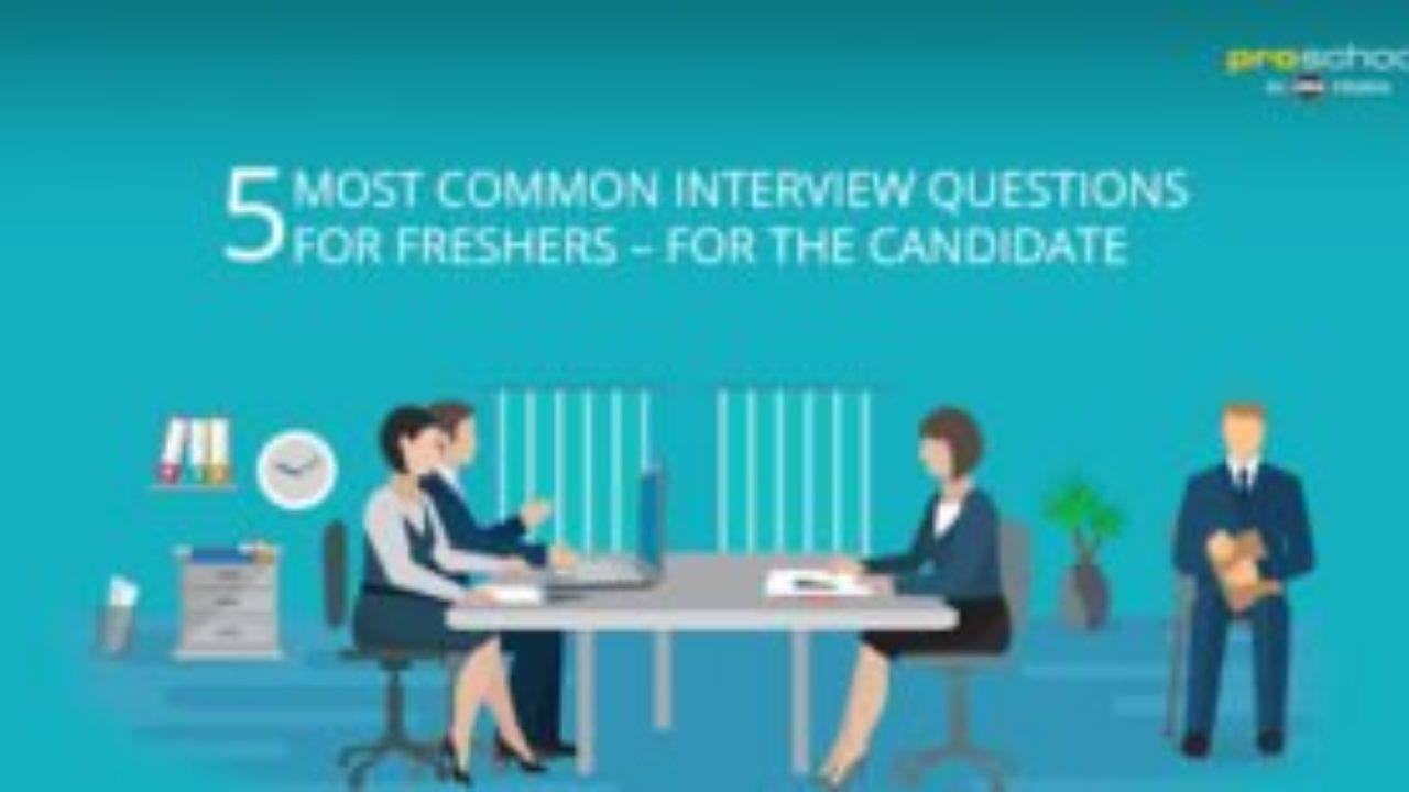 5 Most Common Interview Questions for Freshers - for the