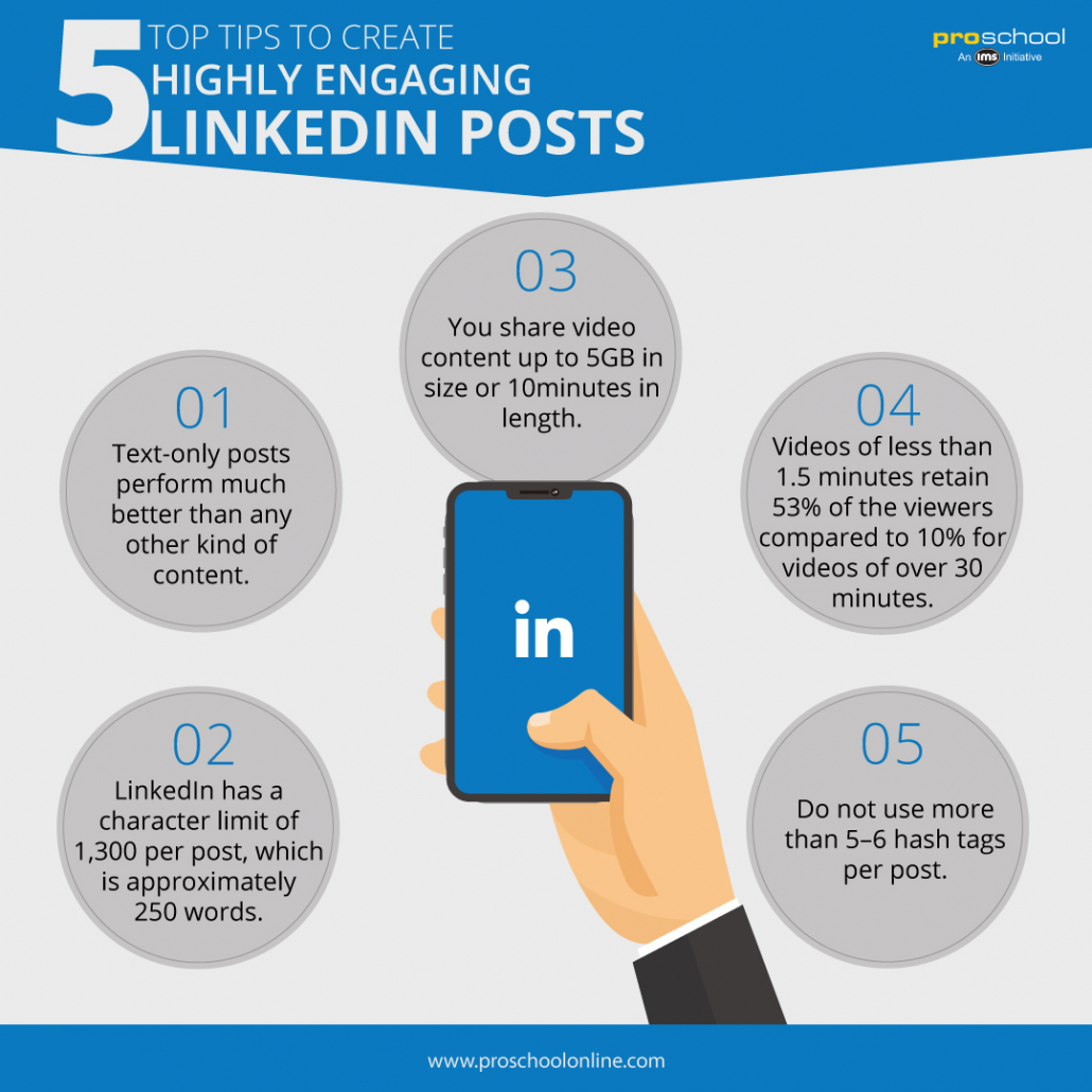 5 Top Tips to Create a Highly Engaging LinkedIn Post